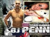 Moldura BJ Penn Lutador