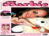 Moldura Revista Barbie Models