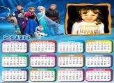 Calendário 2018 Frozen Personagens Filme