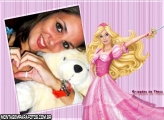 Moldura Barbie Mosqueteira