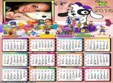 Calendário Personagens Discovery Kids 2016