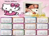 Calendário da Hello Kitty 2016