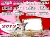 Calendário Anjinho Amor 2013