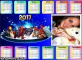 Calendário 2017 Personagens Marvel