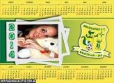 Calendário 2014 Brasiliense