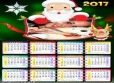 Calendário 2017 do Papai Noel
