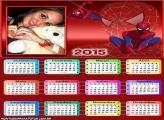 Calendário 2015 Aranha