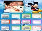Calendário 2015 Mickey Moldura