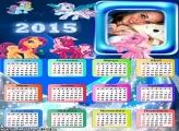 Calendário 2015 Pequeno Poney