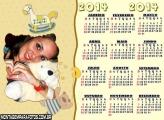 Calendário 2014 Quarto Criança