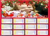 Calendário 2017 Carruagem do Papai Noel