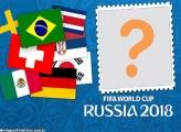 Times da Copa do Mundo 2018 Moldura