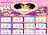 Calendário 2018 Petite Jolie