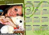 Calendário Cachorrinho 2014