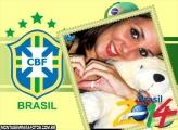 Moldura CBF Brasil 2014