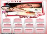 Calendário 2014 Betty Boop