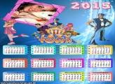 Calendário 2015 Desenho Lazy