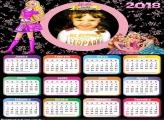 Calendário 2018 Barbie Escola de Princesas