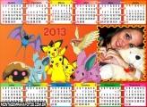 Calendário Pokémon 2013