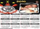 Calendário Corinthians Time 2016