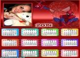 Calendário 2014 do Aranha