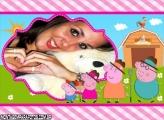 Familia Peppa Pig Moldura