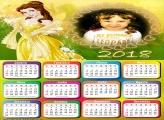 Calendário 2018 Princesa Bela