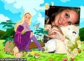 Moldura Campo Barbie