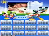 Calendário Mickey Férias 2013