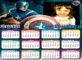 Calendário 2018 Capitão América Spinner