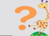 Moldura Girafa