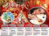 Calendário 2017 Lembrança de Natal