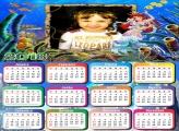 Calendário 2018 do Mar Ariel