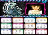 Calendário 2018 Frankie Monster High
