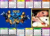 Calendário Wolverine 2013