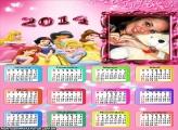 Calendário 2014 As Princesas