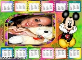 Calendário 2015 Colorido