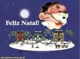 Presépio de Natal e Neve
