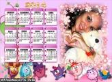 Calendário Bichinho 2014
