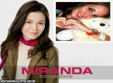 Moldura Miranda Cosgrove