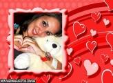 Corações Apaixonados Vermelho