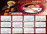 Calendário do Naruto Manga 2016
