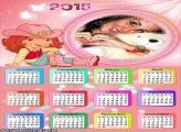 Calendário 2015 da Moranguinho