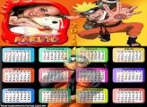 Calendário 2015 Naruto