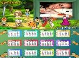 Calendário 2015 Flintstones