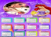 Calendário 2015 Lilás Ariel