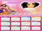 Calendário 2018 Babie Teen