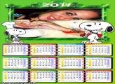 Calendário 2017 Snoopy Cachorrinho