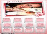 Calendário 2014 Romântico