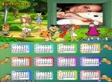 Calendário 2014 Os Flintstones
